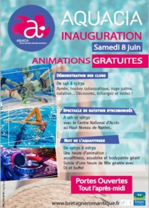 Inauguration piscine AQUACIA @ Piscine Aquacia
