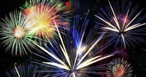 Feu d'artifice : 35 ans du Comité des fêtes